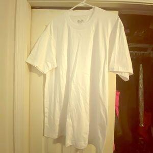 Men's Size Large white t-shirt